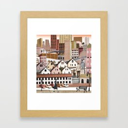 Dream Cities Framed Art Print