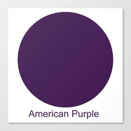 American Purple Canvas Print