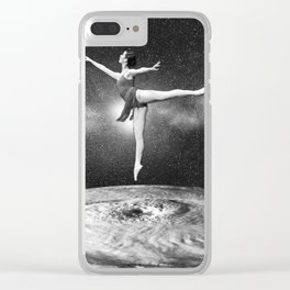 Universe dancer Clear iPhone Case