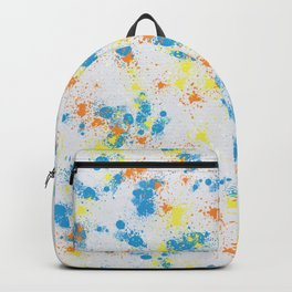 Happy splatter Backpack
