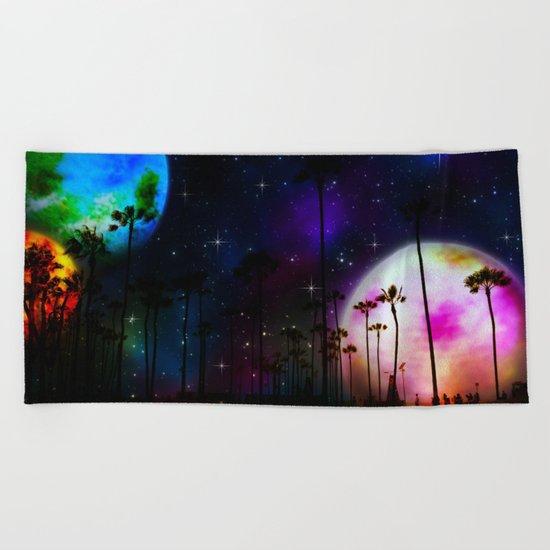 Space Cali ii Beach Towel