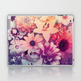 Hipster Flowers Laptop & iPad Skin