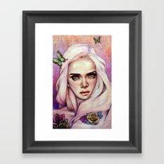 Sweet Flora Enshrined  Framed Art Print