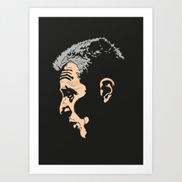Michael Corleone from The Godfather Part III Art Print