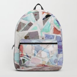 Mosaic of Barcelona V Backpack