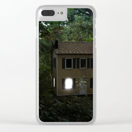 I'll Leave a Light On For You Clear iPhone Case