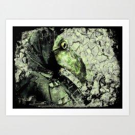 The Plague Doctor II Art Print