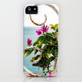 Positano Blooms X iPhone Case