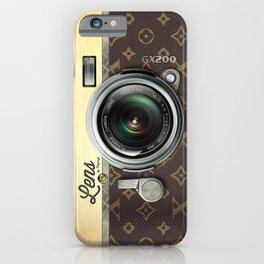 Lens GX200 - Gold Camera iPhone Case