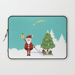 Santa Claus and gifts Laptop Sleeve