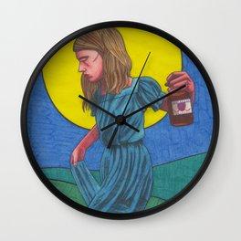 Honky Tonk Angel Wall Clock