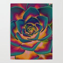 """Exotic Succulent Pop Art"" Poster"