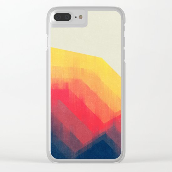 Sounds Of Distance Clear iPhone Case