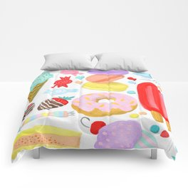 Sweet Treats Comforters