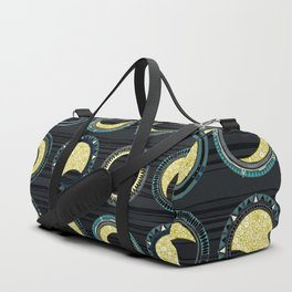 solar eclipse mandala Duffle Bag