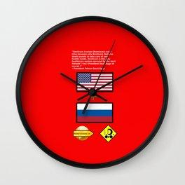 Devilcare Wall Clock
