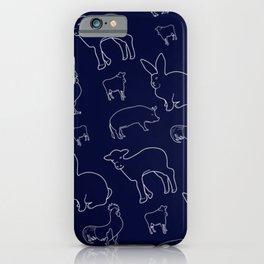 Farm Animals iPhone Case