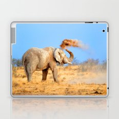 Elephant having fun Laptop & iPad Skin