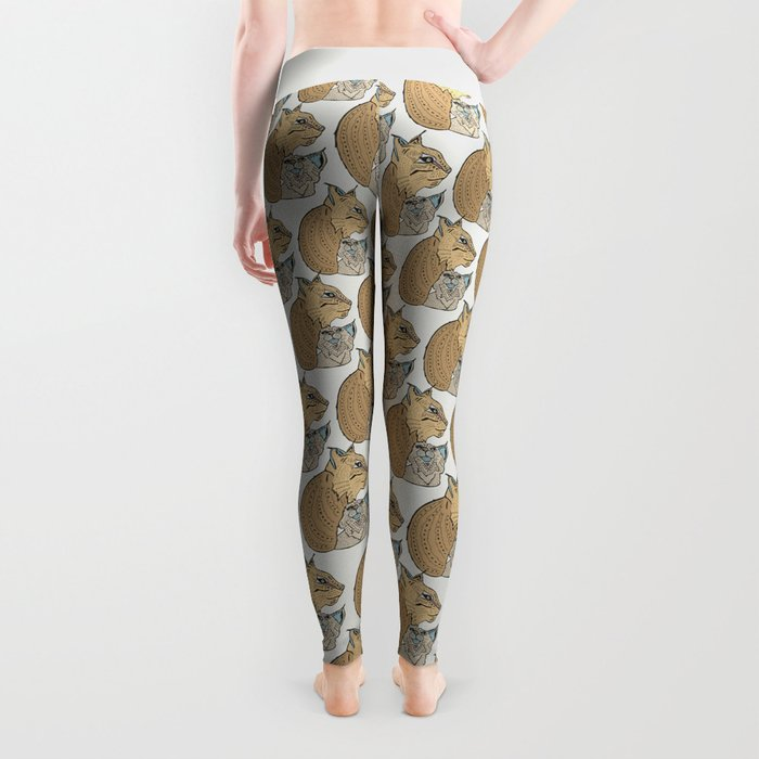 Mama And Baby Lynx Leggings