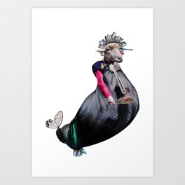 Royal Expectation Art Print