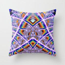 BBQSHOES: Bubbleweb Fractal 9513 Throw Pillow