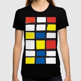 Mondrian Variation 1 T-shirt
