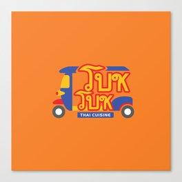 Tuktuk Thai Cuisine in Vietnam Canvas Print