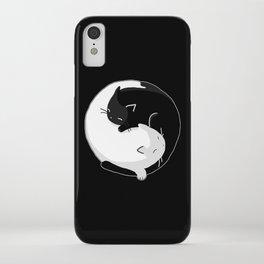 Yin Yang Cats iPhone Case