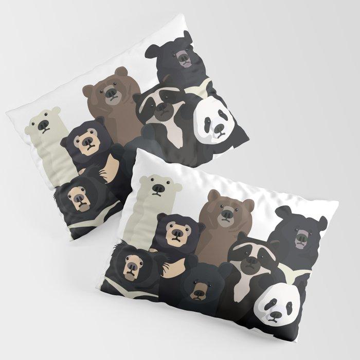 Bear family portrait Kissenbezug