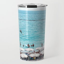 Amalfi Beach Travel Mug