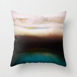 Winters Dusk Throw Pillow