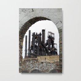 Bethlehem Steel Blast Furnace 6 Metal Print
