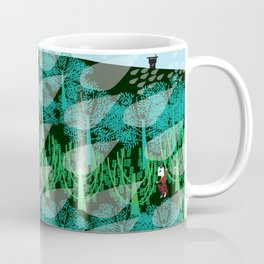 Fashionitsta cats pan art Coffee Mug
