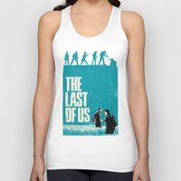 last of us Tank Tops featuring The Last Of Us by Bill Pyle