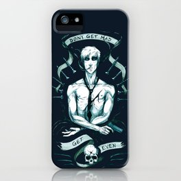 GET EVEN iPhone Case