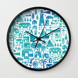 in the Spanish South coast Wall Clock