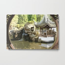 Japanese Tea Garden Metal Print