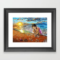 Treasure Hunter Framed Art Print