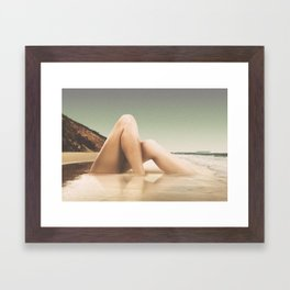 Legscape II Framed Art Print
