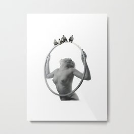 Men on Wire Metal Print