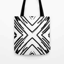 Light Uncolored | Saro-Gongo Pattern Tote Bag