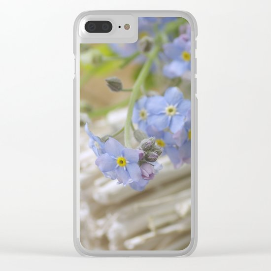 Do not forget me Clear iPhone Case