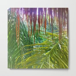 477 - Abstract jungle design Metal Print