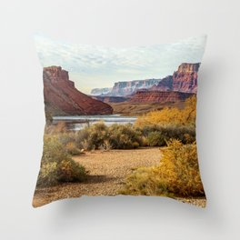 Lee's Ferry, Arizona Throw Pillow