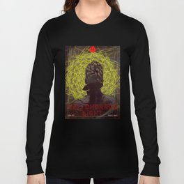 HelloHorror Issue 8 Cover - Victorian woman stares into the abyss Long Sleeve T-shirt