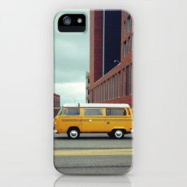 Yellow Bus iPhone Case