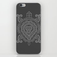 tortoise iPhone & iPod Skins featuring Pattern Tortoise  by Adil Siddiqui