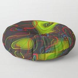 Extra dimensions Floor Pillow