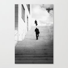 Climbing Higher Canvas Print