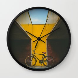 Bike Noord Amsterdam Wall Clock